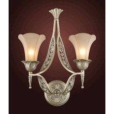 Trump Home Central Park Chelsea 2 Light Wall Sconce