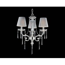 Princess 3 Light Mini Chandelier