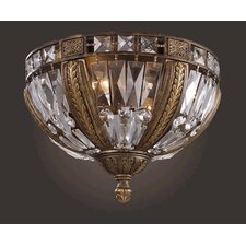 <strong>Elk Lighting</strong> Trump Home Millwood Flush Mount