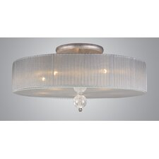 Alexis 5 Light Semi-Flush Mount