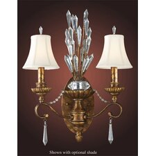 Trump Home Senecal 2 Light Wall Sconce