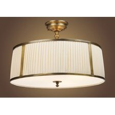 "Williamsport 20"" Semi Flush Mount"