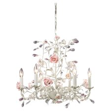 Heritage Candle 6 Light Chandelier