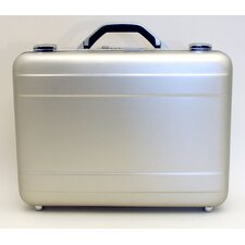 Aluminum Attache Case in Satin Finish: 12.25 x 17.25 x 4.5