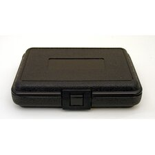 Blow Molded Case in Black: 6 x 8.5 x 2