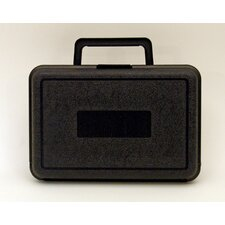 Blow Molded Case in Black: 6.5 x 9.5 x 3