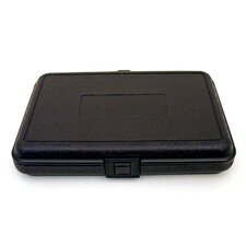 Blow Molded Case in Black: 8 x 12 x 2.25