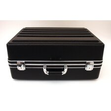 Heavy-Duty Polyethylene Case in Black: 15.5 x 21.5 x 9