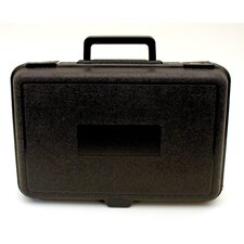 Blow Molded Case in Black: 9 x 13.5 x 3.25