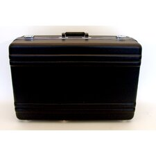 Heavy-Duty Polyethylene Case with Parallel Rib Pattern without Foam in Black: 15.75 x 23.75 x 9
