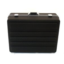 Heavy-Duty Polyethylene Case in Black: 17.75 x 23.75 x 9