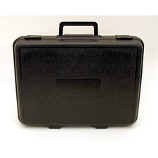 Blow Molded Case with Handle in Black:11 x 15 x 3.25