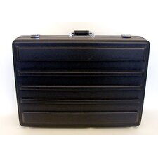 Heavy-Duty Polyethylene Case in Black: 19.5 x 27.5 x 7