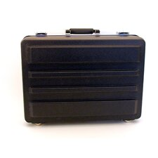 "Standard Polyethylene Tool Case in Black: 13"" x 18"" x 5"""