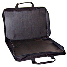Nylon Zipper Tool Case in Black - No Pallets: 13 x 18.25 x 3.5