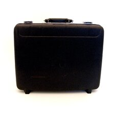 Economy Polypropylene Tool Case in Black: 13 x 18 x 6