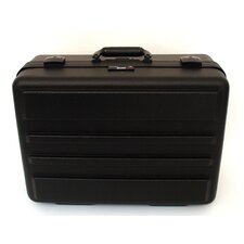 <strong>Platt</strong> Ultimate Polyethylene Tool Case with Black Hardware in Black: 14 x 19 x 9