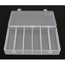 <strong>Platt</strong> Divider Box in Translucent: 6.5 x 10.5 x 1.5