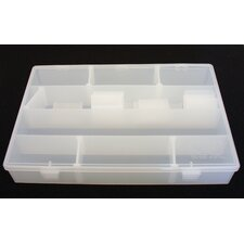 <strong>Platt</strong> Divider Box in Translucent: 8.75 x 13.13 x 1.88