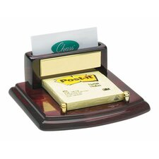 Business Card and Post-It Holder