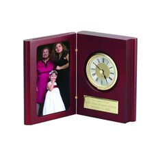 Book of Time Clock and Picture Frame