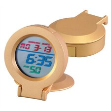 Gold Rainbow Alarm Clock