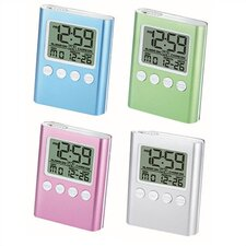 C-Time LCD Travel Alarm Clock