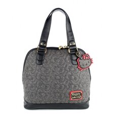 <strong>Hello Kitty</strong> Quilted Bows Satchel