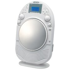 AM/FM Stereo Shower Radio and CD Player