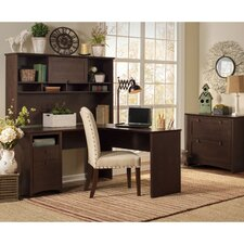 Buena Vista L-Shape Desk Office Suite