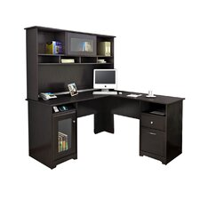 Cabot L Shape Computer Desk Office Suite