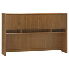<strong>Bush Industries</strong> Northfield Credenza Hutch in Dakota Oak