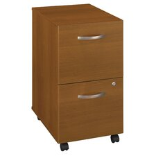 Series C 2 Drawer Mobile Filing Cabinet