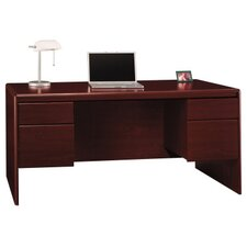 <strong>Bush Industries</strong> Northfield Double Pedestal Office Desk