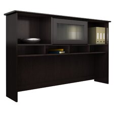 Cabot Corner Executive Desk with Hutch and Lateral File