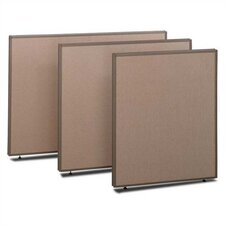 "ProPanel 42.87"" x 48"" One Panel Partition"
