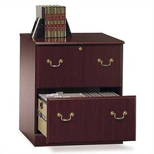 <strong>Bush Industries</strong> Saratoga Executive Collection - Lateral File in Cherry