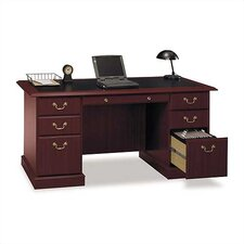 "Saratoga Executive Collection 66"" W Manager's Desk"