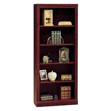 "Saratoga 72"" H Five Shelf Bookcase in Cherry"