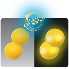 Glo-Bright Replacement Paddle Game Balls (Set of 2)