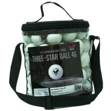 3-Star Table Tennis Balls with Bucket (Set of 72)