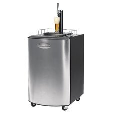 Kegorator Beer Keg Fridge in Stainless Steel