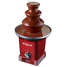 <strong>Nostalgia Electrics</strong> Retro Series 3 Tier Chocolate Fondue Fountain