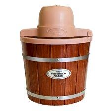 Old Fashioned 2-qt. Wood Ice Cream Maker