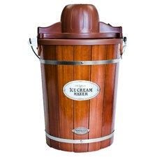 Old Fashioned 6-qt. Wood Bucket Ice Cream Maker