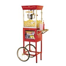 <strong>Nostalgia Electrics</strong> Vintage 6 Ounce Popcorn and Concession Cart