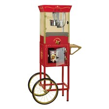 <strong>Nostalgia Electrics</strong> Vintage Dispensing Popcorn Cart