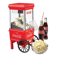 <strong>Nostalgia Electrics</strong> Coca-Cola Series Hot Air Popcorn Maker