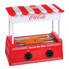 <strong>Nostalgia Electrics</strong> Coca-Cola Series Hot Dog Roller