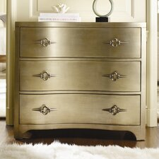 <strong>Hooker Furniture</strong> Sanctuary 3 Drawer Shaped Front Dresser
